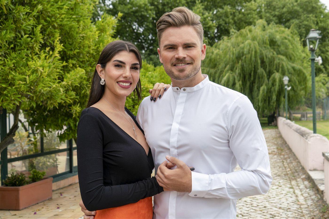 """Johannes Haller und Yeliz Koc, die sich bei """"Bachelor in Paradise"""" kennengelernt haben."""