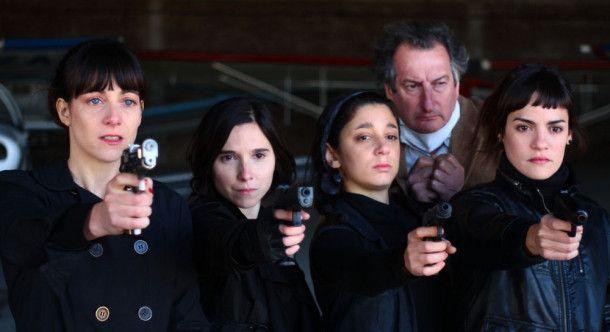 """Elisa Carricajo, Valeria Correa, Pilar Gamboa und Laura Paredes spielen die Hauptrolle in """"La Flor""""."""