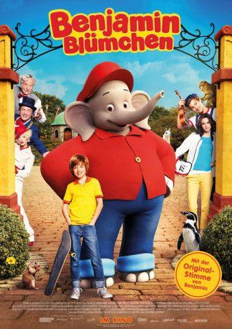 """Der beliebteste Dickhäuter Deutschlands feiert sein Kinodebüt: In """"Benjamin Blümchen"""" erlebt der Elefant gemeinsam mit seinem besten Freund Otto ein spannendes Abenteuer."""