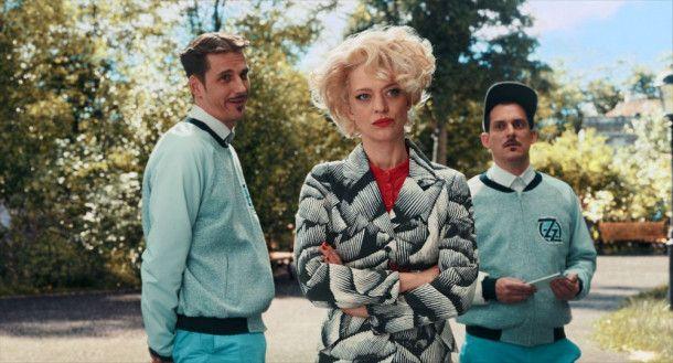 Zora Zack (Heike Makatsch) will gemeinsam mit ihren Helfern Hans (Max von Thun, links) und Franz (Johannes Suhm) den Neustädter Zoo modernisieren - auf ihre Art.