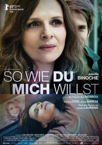 """Juliette Binoche brilliert in """"So wie du micht willst"""" als 50-jährige Literatur-Professorin, die mit Pseudoidentität im Netz einen jungen Mann kennen und lieben lernt."""