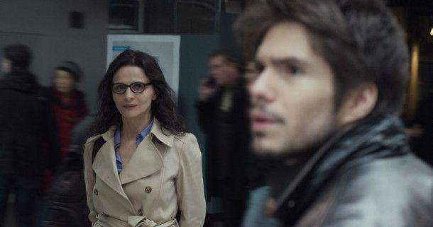 Erkennt Alex (François Civil) Claire (Juliette Binoche) alias Clara?