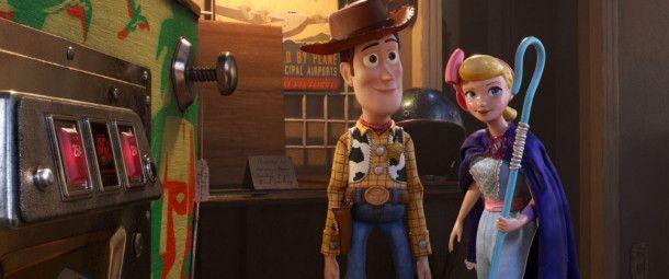 Ein Traumpaar: Cowboy Woody (links) begegnet endlich seiner Porzellinchen.