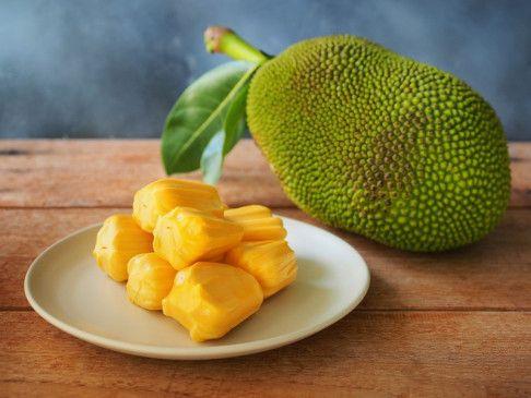 Trendige Jackfruit: auch für Burger, Gulasch und Currys geeignet.