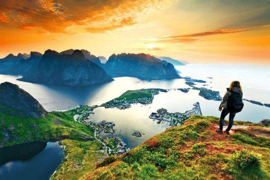 Mit dem Reisesommer kommen Sie nach Skandinavien.