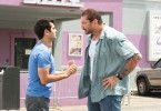 Langsam gewöhnen sich Stu (Kumail Nanjiani, links) und Polizist Vic (Dave Bautista) aneinander.