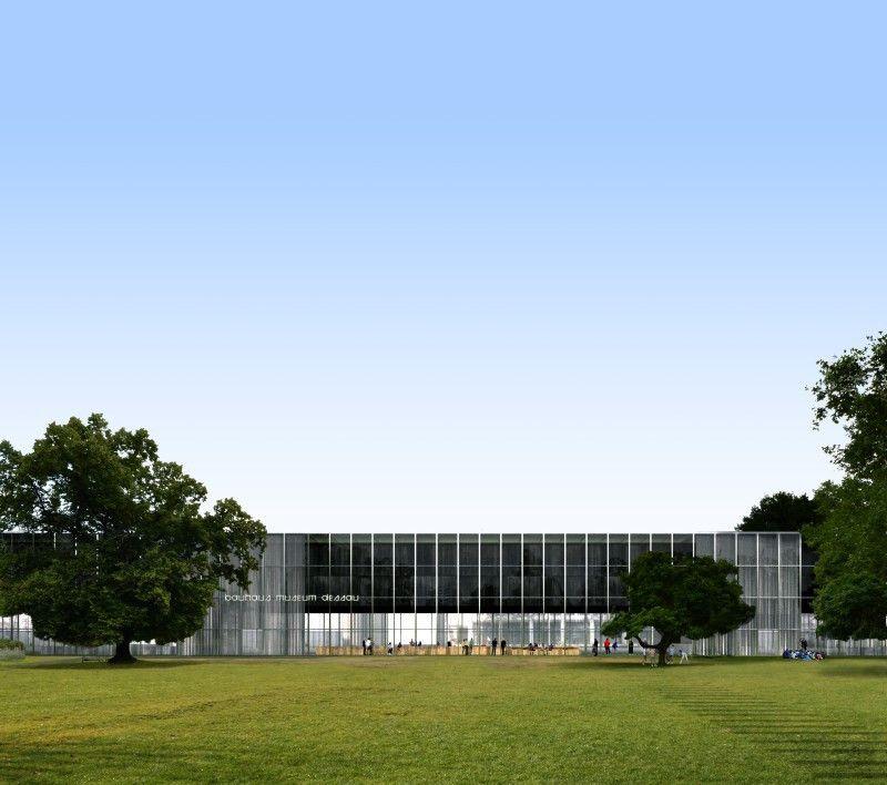 Das Bauhaus Museum Dessau wird am 8. September 2019 eröffnet.