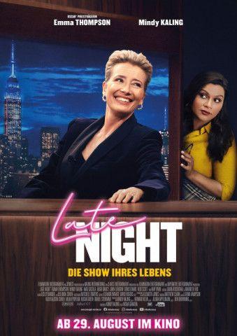 """Nisha Ganatras Komödie """"Late Night"""" stützt sich auf eine hochkarätige Schauspielerriege, bleibt aber inhaltlich letzten Endes zu formelhaft."""