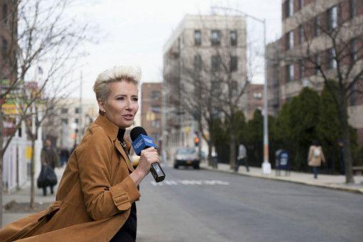 Katherine Newbury (Emma Thompson) versucht, ihre Late-Night-Show zeitgemäßer zu gestalten, und ist nun auch in der Stadt unterwegs.