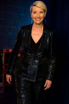 Emma Thompson überzeugt in ihrer Rolle als eingebildete Talkshow-Gastgeberin.