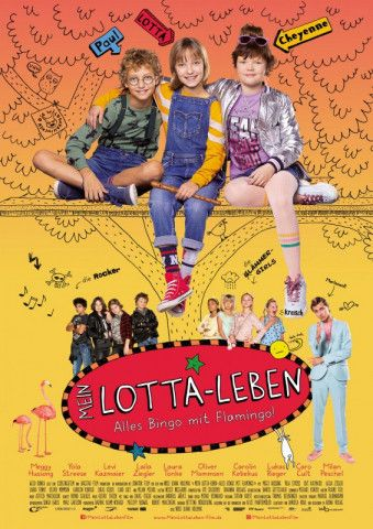 """""""Alles Bingo mit Flamingo!"""" ist die erste Verfilmung eines Buchs der beliebten """"Lotta-Leben""""-Reihe."""