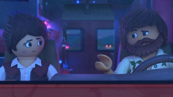 Marla begleitet Del in dessen Foodtruck.