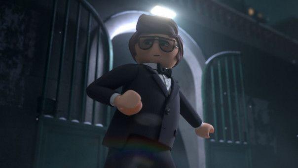 Geheimagent Rex Dasher begibt sich auf große Mission.