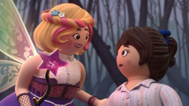 Für Marla (geht) es in die Märchenwelt, wo ihr zauberhafte Geschöpfe begegnen.