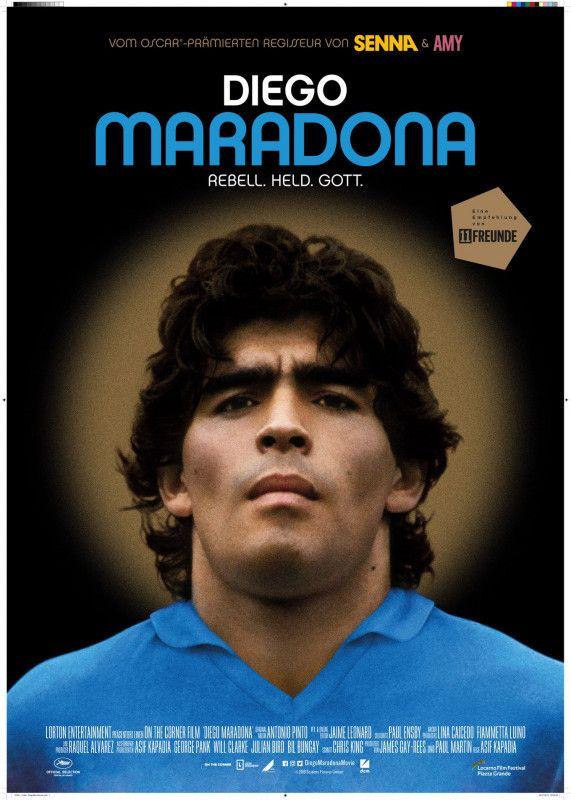 """Als Fußballer verehrt, in der Boulevardpresse zerpflückt: Der Dokumentarfilm """"Diego Maradona"""" erzählt das stetige Auf und Ab im Leben des Argentiniers nach."""