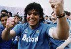 Im Trikot des SSC Neapel feierte Diego Maradona seine größten Erfolge im Vereinsfußball.