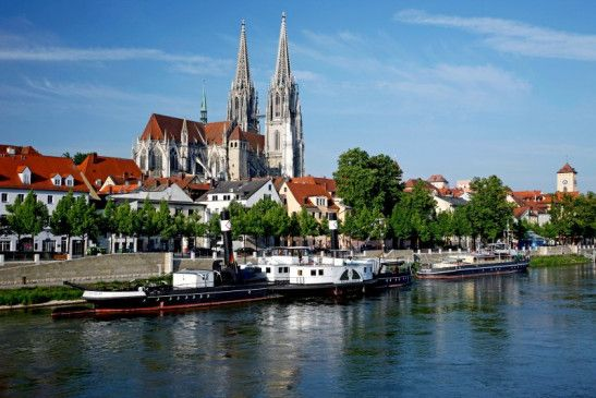 Der Dom St. Peter in Regensburg.
