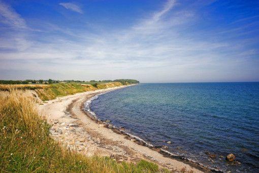 Ostsee-Idylle auf der Insel Fehmarn.