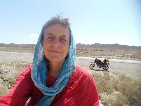 Margot Flügel-Anhalt reiste bis in den Iran.