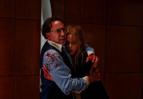 In Todesangst: Kyle Miller (Nicolas Cage) und seine Frau Sarah (Nicole Kidman).