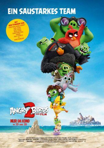 """Die schrägen Vögel und Schweine sind zurück! """"Angry Birds 2 - Der Film"""" startet in den Kinos und sogar besser als der Vorgänger."""