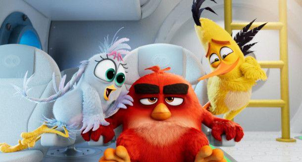 """Natürlich ist die Geschichte von """"Angry Birds 2 - Der Film"""" vollkommen irrsinnig - und das in praktisch jeder Beziehung."""
