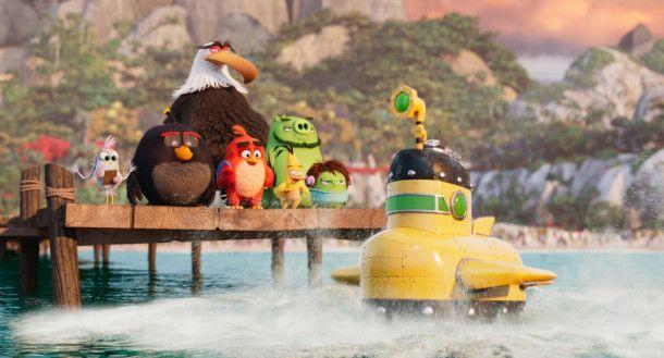 In dieses Yellow Submarine passen nun wirklich nicht alle rein ...