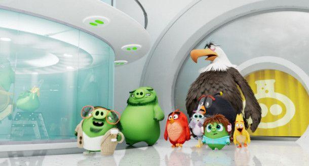 """Teil eins der """"Angry Birds"""" sahen in Deutschland rund 1,4 Millionen Besucher."""