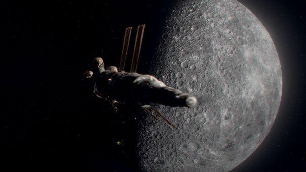 Für McBride geht es zum Mond, dann zum Mars, schließlich zum Neptun.