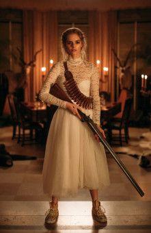 Nicht mit mir: Grace (Samara Weaving) bietet ihren Jägern Paroli.