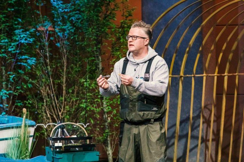 """<b>Folge 3:</b>  Dr. Christopher Rupp stellt """"iCapio"""" vor, ein innovatives Angelködersystem, das den Geruchssinn der Fische reizen soll."""