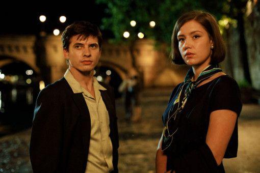 Clara Saint (Adèle Exarchopoulos) wird eine enge Vertraute von Nurejew (Oleg Ivenko).