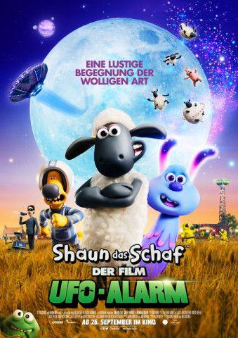 Intergalaktischer Humor wartet in Shauns neuem Kinoabenteuer.