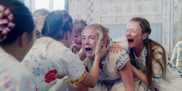 Kaum jemand schreit und weint im Film so schön wie Florence Pugh (zweite von rechts).