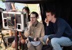 Regisseur Ari Aster (zweiter von rechts), hier mit Will Poulter am Set, begeistert auch mit seinem zweiten Film.