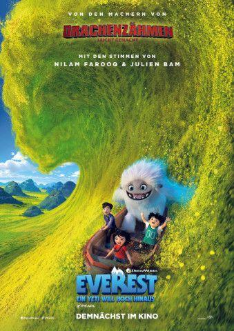 """In ihrem  Animationsabenteuer """"Everest - Ein Yeti will hoch hinaus"""" entführen Dreamworks Animation und Pearl Studio das Publikum auf eine Abenteuerreise bis zum Himalaya."""