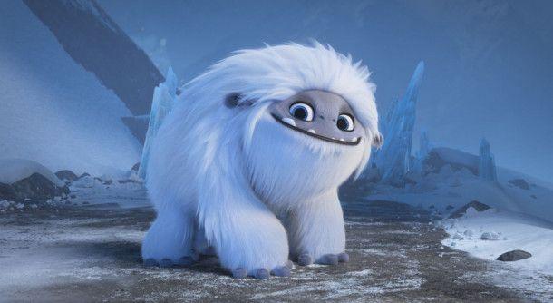 Der Yeti Everest ist ein großes, weißes Wollknäuel mit kindlichem Gemüt.