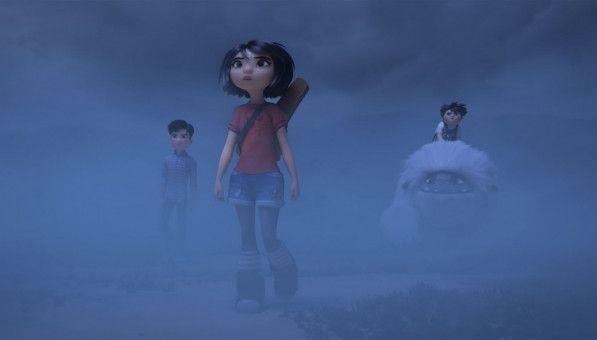 Yi (vorne) und ihre Freunde stochern im Nebel.