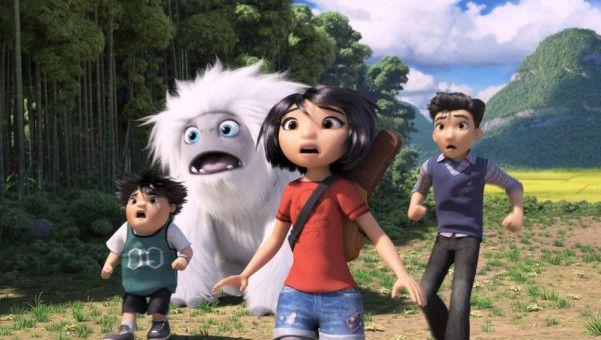 Während ihres Abenteuers müssen Yi (vorne), Jin (rechts), Yeti Everst und Peng (links) einige Schreckmomente überstehen.