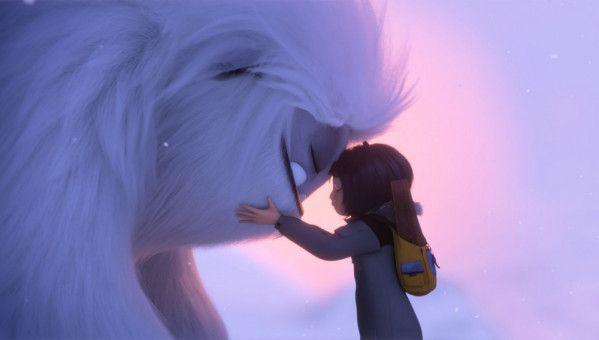 Auf ihrer Reise werden Yi und Everest zu dicken Freunden.