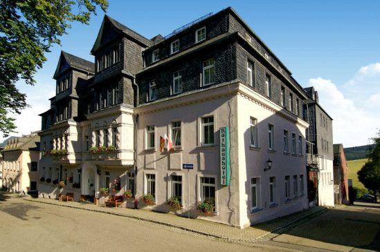 Endlich ausspannen: die Rathaushotels Oberwiesenthal am Marktplatz.