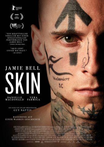 """""""Skin"""" geht unter die Haut: Jamie Bell will als Neonazi seine Vergangenheit loswerden. Die allerdings ist in seinem Gesicht verewigt."""