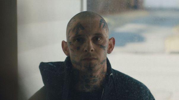 """Jamie Bell spielt in """"Skin"""" den Neonazi-Aussteiger Bryon Widner, der einst einer der meistgesuchten Protagonisten der White Surpremacist-Bewegung in den USA war."""