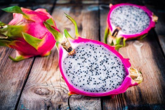Raue Schale, weicher Kern: Das Fruchtfleisch ähnelt Stracciatella-Eis.