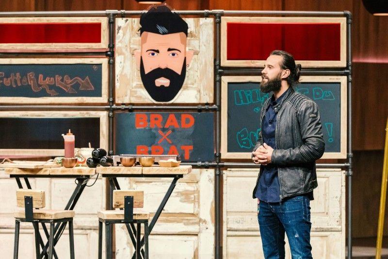 """<b>Folge 5:</b> Marvin Kruse ist ein alter Bekannter. Schon zum dritten Mal ist der umtriebige Gründer in der """"Höhle der Löwen"""" dabei. Bislang ohne Erfolg. Mit seiner Bratwurstrevolution """"Brad Brat"""" – einer extra dicken Bratwurst – will er nun ein Franchisesystem aufbauen."""