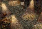 In Leipzig gehen am 9. Oktober 100.000 Bürger auf die Straße und läuten mit dieser Demonstration tatsächlich das Ende der DDR ein.