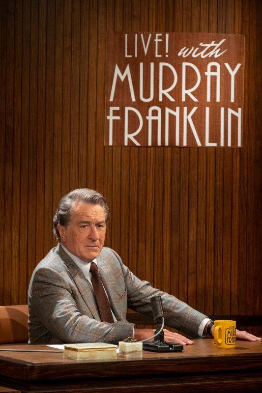 TV-Moderator Murray Franklin (Robert De Niro) lädt den Joker in seine Show.