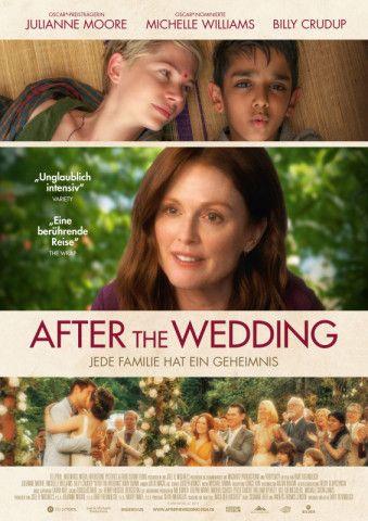 """Bart Freundlich hat ein Remake des dänischen Dramas """"Nach der Hochzeit"""" gedreht - mit seiner Ehefrau Julianne Moore und Ausnahmetalent Michelle Williams in den Hauptrollen."""