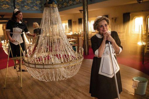 Mit 66 Jahren stürzt sich Maria Wartberg (Katharina Thalbach) endlich ins große Abenteuer.