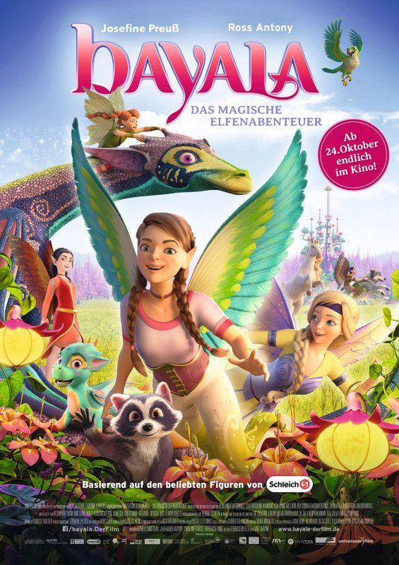 """Die bunte fröhliche Welt der Elfen ist in Gefahr, und Prinzessin Surah muss sie im Animationsfilm """"bayala - Das magische Elfenabenteuer"""" retten."""